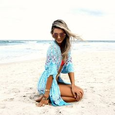 NEW Blue Peacock Beach Kimono SPRING+SUMMER Collection | One Size | Will be available this week in the Shop + On Site! | Beautiful High quality, designed in Australia.  *Also avail in Aqua* La Luna Gypsy Other