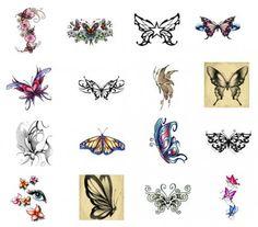 japanese butterfly tattoo | bullseye-butterflies-tattoos