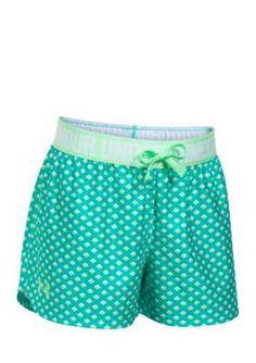 Under Armour Girls' Play Up Short Girls 7-16 - Absinthe Green/Summer Lime - Xl