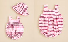 Kissy Kissy Infant Girls' Terry Hat & Bubble Set - Sizes 0/3-6/9 Months