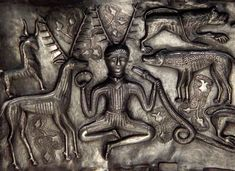 indus valley seals horned man - Google Search