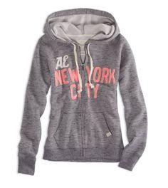 AE NYC Zip Hoodie