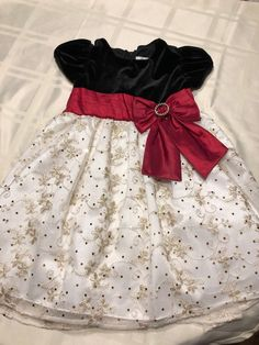 Fao Red Tutu Dress With Leggings Size 4t 100% Guarantee Clothing, Shoes & Accessories
