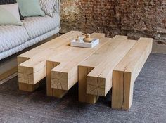 15 DIY Woodworking Table Ideas For Your Living Room – Furniture Ideas Woodworking Furniture, Pallet Furniture, Furniture Projects, Woodworking Projects, Furniture Design, Wood Projects, Router Woodworking, Outdoor Furniture, Woodworking Beginner