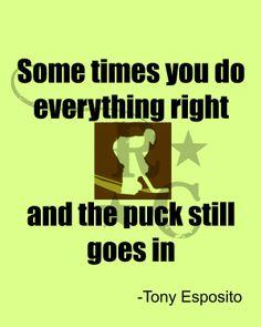 Goalie quote - so true! Goalie Quotes, Hockey Quotes, Sport Quotes, Hockey Goalie, Field Hockey, Ice Hockey, Hockey Room, Hockey Girls, Boys