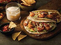 Crispy Baja Shrimp Tacos with Sweet Rice Drink   Publix Simple Meals