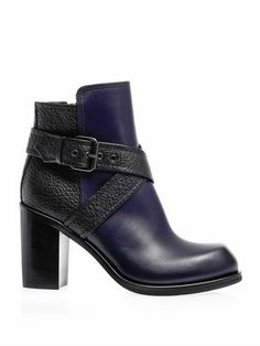 Nazrul block-heel boots | McQ Alexander McQueen | MATCHESFASHI...