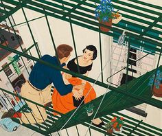 "Mac Conner: A New York Life, in its final weeks at the Museum of the City of New York, is an exhibition not to miss. Illustrations by McCauley (""Mac"") Conner (b. a figure the museum calls ""one of New York's original 'Mad Men,' "" vividly evoke Gravure Illustration, Man Illustration, American Illustration, Magazine Illustration, Illustration Styles, Illustration Fashion, Don Draper, Mac, Mad Men"
