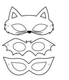 Moldes Máscara de Carnaval ~ Arte De Fazer | Decoração e Artesanato
