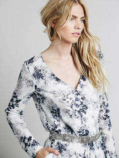 Free People Float Away Romper at Free People Clothing Boutique