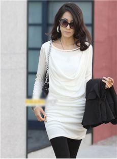 Lovely Korean Style Long Sleeves Dress
