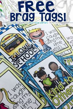 Brag tags are a fun and effective classroom management tool. This post has lots of tips and tricks for using brag tags and includes a FREE brag tag download.