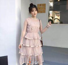 Unique Dresses, Trendy Dresses, Summer Dresses, Kpop Fashion Outfits, Girl Fashion, Fashion Dresses, Farewell Dresses, Versace Dress, Colourful Outfits
