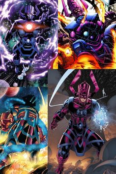Galactus Comic Book Villains, Marvel Villains, Comic Book Characters, Hq Marvel, Marvel Dc Comics, Marvel Heroes, Marvel And Dc Characters, Marvel Comic Character, Deadpool Enemies
