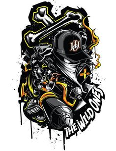 The Wild Ones™ Apparel on the Behance Network: