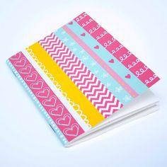 Pocket Notebook Doodle Stripe by PomeloandPomelo on Etsy, $6.50