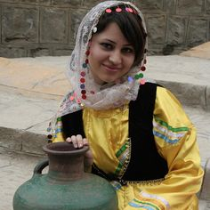 Beautiful Gilaki Girl from the Gilan Province, Iran.