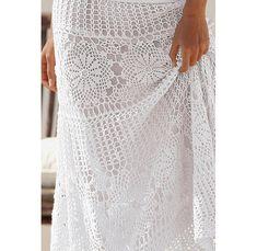 Crochet maxi skirt PATTERN, detailed TUTORIAL for every row + HQ charts, designer crochet skirt patterns, download crochet skirt pattern