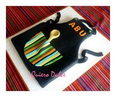 torta mandil de cocina