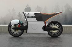 Ecologically Efficient Motorbikes - This Tesla E Bike Motorcycle Concept is Futuristic Yet Realistic (GALLERY)