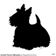 Image result for scottish terrier silhouette