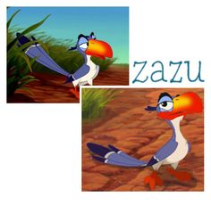 """ZAZUUU"" by l0st-demig0ds ❤ liked on Polyvore featuring Zazu"