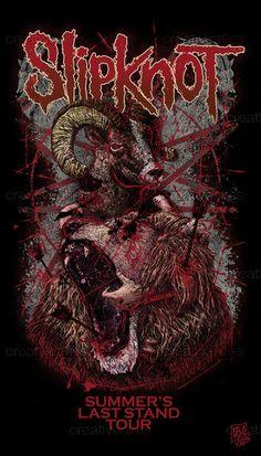 Slipknot Merchandise Graphic by BVA on CreativeAllies.com