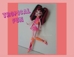 Monster High Doll Clothes  Custom Handmade Fashion by DOLLS4EMMA on Etsy