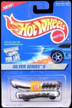Mattel Hot Wheels 1996 1:64 Scale Silver Series II Chrome Oscar Mayer…