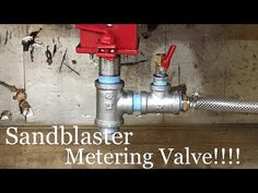 Harbor Freight Blast Cabinet Metering Valve Modification - YouTube Bead Blaster, Homemade Tools, Cabinet, Youtube, Shop Ideas, Clothes Stand, Closet, Cupboard, Youtubers