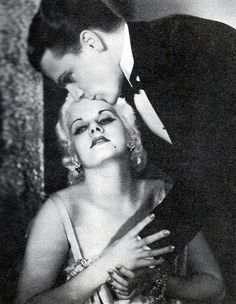 """Jean Harlow and James Cagney in """"Public Enemy"""""""
