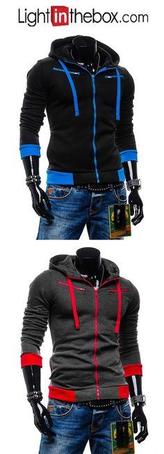 Men's Sports Street chic Hoodie Jacket