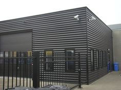 Image result for corrugated exterior industrial