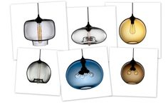 Filament Bulb Pendant Light by Niche Modern
