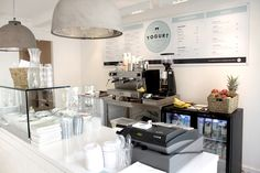 The Yogurt Shop - Louise Skafte