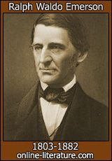"""RALPH WALDO EMERSON - """"Do not go where the path may lead, go instead where there is no path and leave a trail."""""""