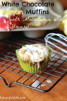 Looking for a new breakfast and brunch recipe? Check out these White Chocolate Lemon Muffins. This is the perfect combination of zesty and sweet!