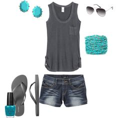 This outfit + me + a tan = HURRY UP SUMMER!
