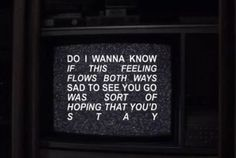 Quote Aesthetic, Aesthetic Pictures, Arctic Monkeys Lyrics, Do I Wanna Know, The Last Shadow Puppets, My Chemical Romance, Mood Quotes, Music Quotes, Cool Bands
