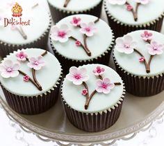 #Cupcake fioriti di #Primavera Scopri la Community di chi ha la passione per i dolci su www.dolcidee.it.