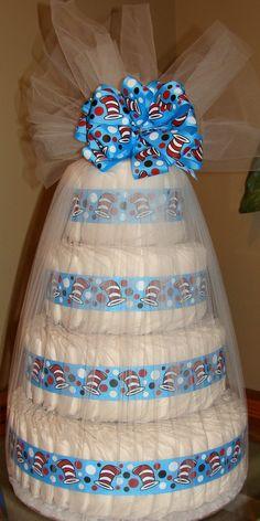 Dr Seuss Diaper Cake Baby Shower Depot