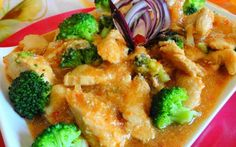 Kai Lan Kip (Surinaams-Chinese kip met broccoli)