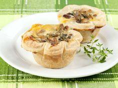 Croustillant de foie gras aux champignons des bois
