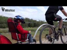 Weehoo Bicycle Trailer Unchained - YouTube
