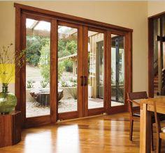 patio door with side windows