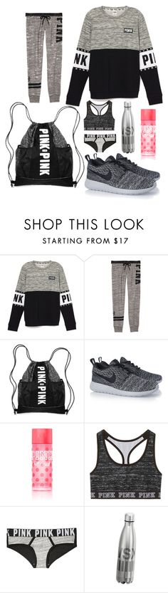 """""""1153"""" by chloemaespann ❤ liked on Polyvore featuring NIKE, Victoria's Secret, women's clothing, women's fashion, women, female, woman, misses and juniors"""
