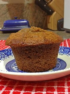Super Moist Bran Muffins | Buttermilk, apple butter and bran cereal keep this easy to make and are so moist and healthy for you!