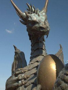 Escultura Dragão :)