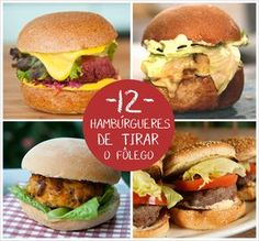 Five Ways to Make Your Burger Better I Love Food, Good Food, Yummy Food, Food Truck, Cooking Time, Cooking Recipes, Menu Dieta, Portuguese Recipes, Sandwiches