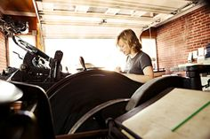Kseniya Thomas of Thomas Printers — and also co-founder of Ladies of Letterpress — in Carlisle, PA